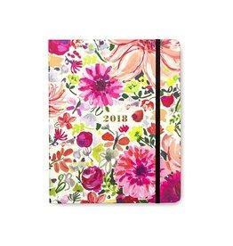 Kate Spade New York 2018 17-Month Agenda Day Planner Large Dahlia