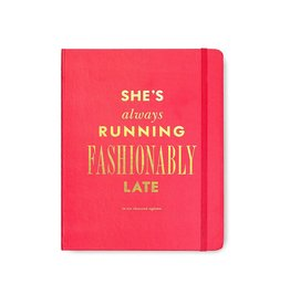 Kate Spade New York 2018 17-Month Agenda Day Planner Large Fashionably Late