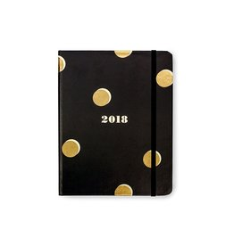 Kate Spade New York 2018 17-Month Agenda Day Planner Medium Scatter Dot