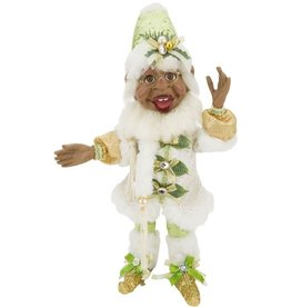 Mark Roberts Fairies Elves African American Black Dashing Thru The Snow MD