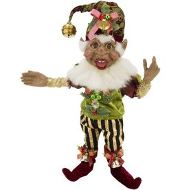 Mark Roberts Fairies Elves African American Black Holly Jolly Elf SM