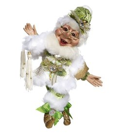 Mark Roberts Fairies Elves Christmas Dashing Thru The Snow Elf SM 10in
