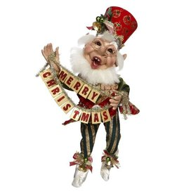 Mark Roberts Fairies Elves Merry Christmas Elf 51-77662 MD 19 inch