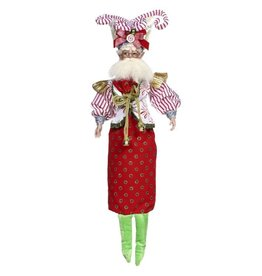 Mark Roberts Fairies Wine Bags 51-77902 Candy Cane Lover Fairy Winebag