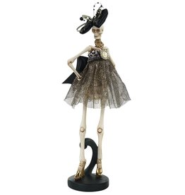 Mark Roberts Halloween Decor Fashion Skeleton Standing 14 inch