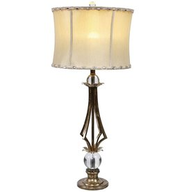 Mark Roberts Stylish Home Decor Contemporary Lighting Empire Lamp 34.5in