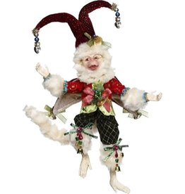 Mark Roberts Fairies Christmas Monkey Red 51-77574-RED-A SM 12in