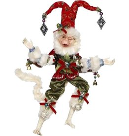 Mark Roberts Fairies Christmas Monkey Red 51-77574-RED-C SM 12in