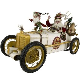 Mark Roberts Fairies Santas Race Car Santa  51-77848 XLG 52x24in