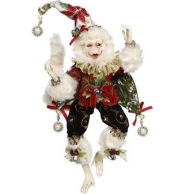 Mark Roberts Fairies Christmas Monkey Red 51-77574-RED-B SM 12in