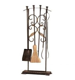 SPI Home 31741 Classical Fireplace  3pc Tool Set w Stand
