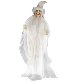 Mark Roberts Halloween Animated Standing Witch Decoration 72 inch
