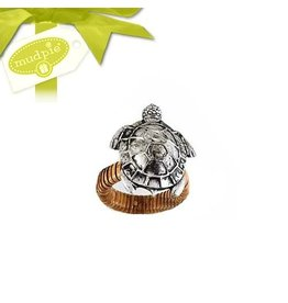 Mud Pie Sea Life Napkin Ring- Sea Turtle