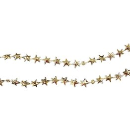 Kurt Adler Miniature Tree Garland Gold Stars 9ft Length H9769-A2