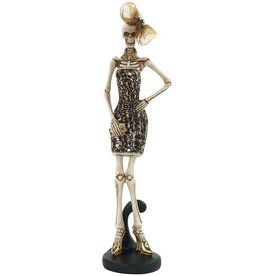Mark Roberts Halloween Decor Fashion Skeleton Standing 13 inch