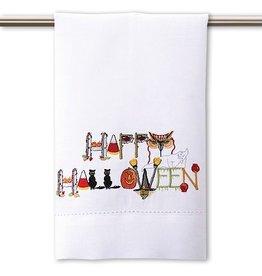 Peking Handicraft Halloween Hand-Guest Towel Happy Halloween 14x22