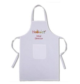Peking Handicraft Holiday Apron w Holiday Meal Director
