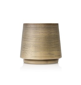 Thymes Frasier Fir Poured Candle Metal Gold 10.5oz Joyeux Medium
