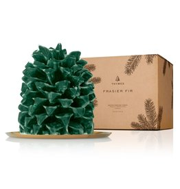 Thymes Frasier Fir Pinecone Candle Petite 6.5x5x5.5
