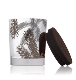 Thymes Frasier Fir Pine Needle Statement Candle 5oz Silver