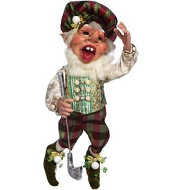 Mark Roberts Fairies Elves 51-71814 Golfer Elf Medium 17 inch
