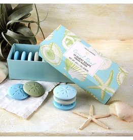 Twos Company Freshwater Scented Soaps Set of 10 Gift Boxed
