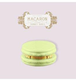 Twos Company Macaron Limoge Trinket Box 8866 Pistachio