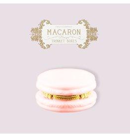 Twos Company Macaron Limoge Trinket Box 8866 Light Pink
