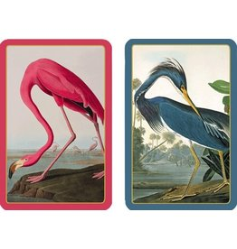 Caspari Playing Cards 2 Decks of Audubon Birds Cards PC127