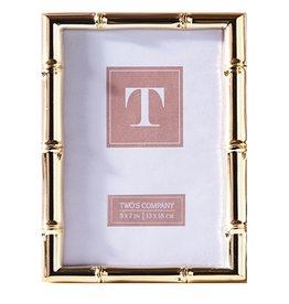 Twos Company Picture Photo Frame Rose Gold 5x7