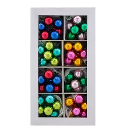 Christopher Radko Shiny Brite Christmas Confetti 8 Mini Ball Clusters