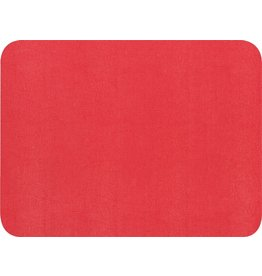 Caspari Placemats 88086PMC Felt Backed Faux Lizard Skin Placemat Red