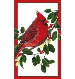 Caspari Christmas Matchboxes -Winter Songbirds Matchbox and Matches
