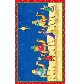 Caspari Christmas Matchboxes Three Wisemen Matchbox and Matches