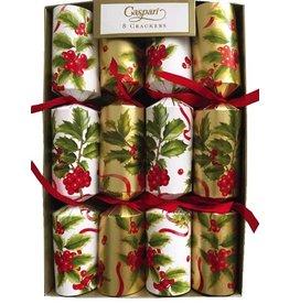 Caspari Christmas Crackers 10 inch Set of 8 - Christmas Trimmings