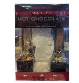 Hammonds Candies Hot Chocolate Dunking Spoons w Marshmallow Gift Set