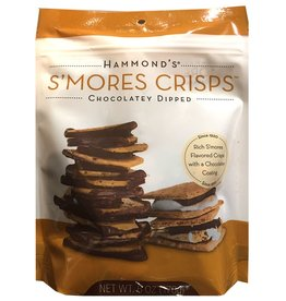 Hammonds Candies Smores Crisps Chocolatey Dipped 6oz Bag