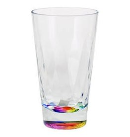 Merritt International Drinkware Acrylic 25610 Rainbow Prism Tumbler 20oz Merritt