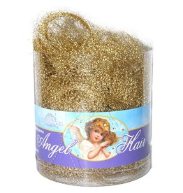 Kurt Adler Christmas Angel Hair Tinsel Gold