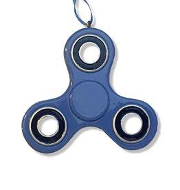 Kurt Adler Fidget Spinner Christmas Ornament 3.75 inch - Blue Black