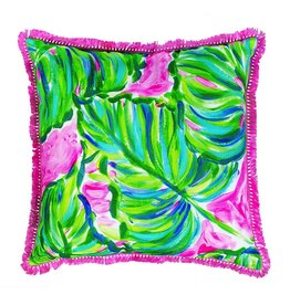 Lilly Pulitzer® Pillow Large 18x18 inch Painted Palm Lilly Pulitzer