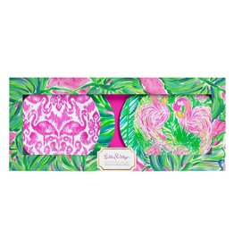 Lilly Pulitzer® Appetizer Plates Set of 4 Paiinted Palm