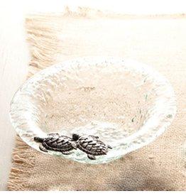 Mud Pie Glass Condiment Bowl Sea Life Sea Turtle 10185TU