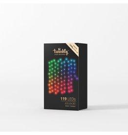 Kurt Adler Twinkly Smart Wifi Christmas Lights Add On Set 119 LEDs