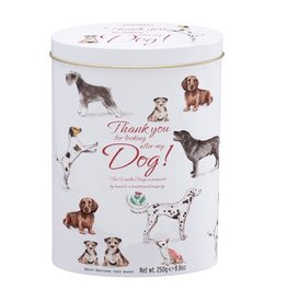 Gardiners of Scotland Fudge Pet Tin Thank You For Looking After My Dog