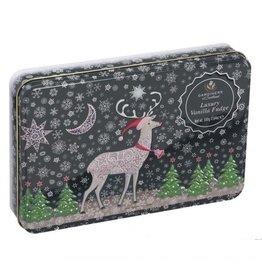Gardiners of Scotland Luxury Vanilla Fudge Christmas Reiindeer Tin 17.64oz
