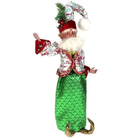 Mark Roberts Fairies Sprit of Christmas Fairy Winebag 16 inch