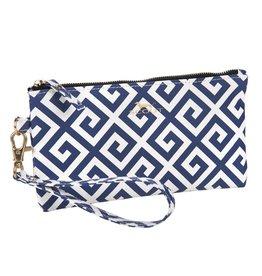 Scout Bags Kate Wristlet 24125 Bid Day Blue
