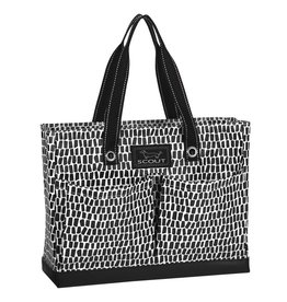 Scout Bags Uptown Girl Tote Bag Zip w Pockets 14750 Crocotile