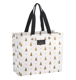 Scout Bags Large Package Gift Bag 13044 Pining Fir Gold